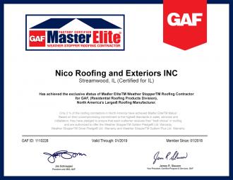 master elite certificate