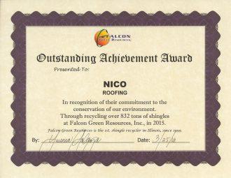 falcon certificate